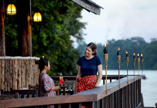 Sukau Rainforest Lodge – Melapi Restaurant