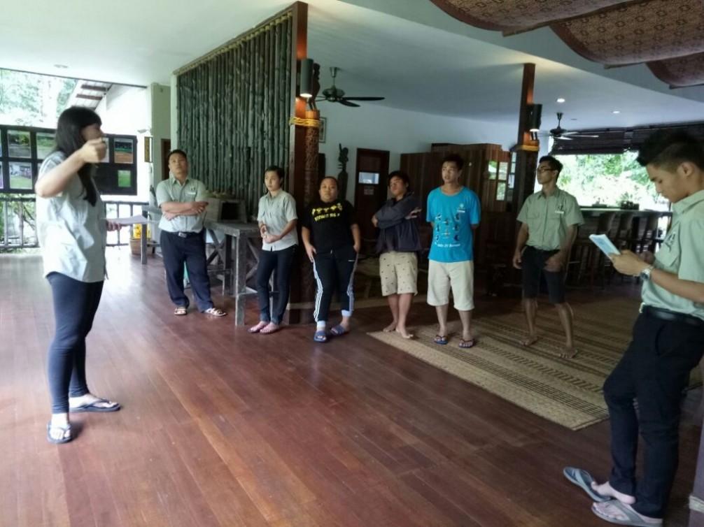 Sukau Rainforest Lodge Sustainable Development Goals Diary 2017