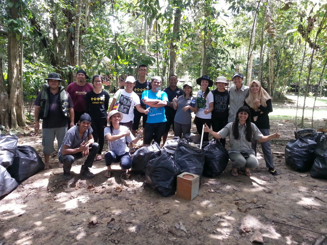 17 Volunteers